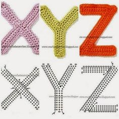 Monograms hats and appliques on pinterest crochet letters and numbers for appliqueing and decor crochetpedia free crochet patterns thecheapjerseys Choice Image