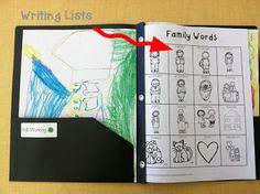 Fantastic First Grade Froggies: Writing Folders (Freebie included)