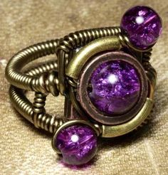 Cool ring via www.Facebook.com/PurpleIsWho