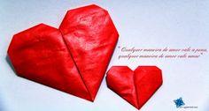 Para o dia do amor. Origamístico - Google+