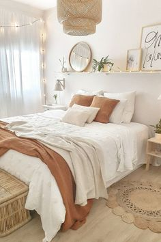 prietysun - 0 results for home Room Ideas Bedroom, Small Room Bedroom, Bedroom Inspo, Boho Bed Room, Bedroom Decor Boho, Bedroom Ideas For Small Rooms, Cozy Teen Bedroom, Boho Chic Bedding, College Bedroom Decor