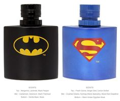 You too can be Batman or Superman with these scents : ) PD
