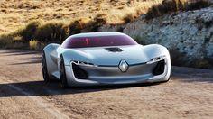 Renault Trezor : un concept-car pour dessiner l'avenir des voitures électriques et autonomes de la marque