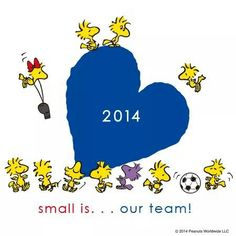 Small is... our team!