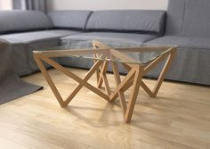 XX coffee table was designed for living spaces . Sizes: 850/850/430 mm.