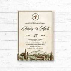 268 best italiantuscan bridal shower images on pinterest in 2018 winery rehearsal dinner or engagement party printable invitation vineyard italian tuscan wine grapes rustic custom printable invite bridal shower filmwisefo