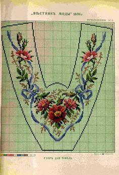 Милые сердцу штучки: Berlin woolwork: Викторианские вышитые мужские домашние туфли (подборка+ схемы)
