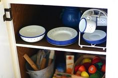 Child's kitchen cupboard - Discovering Waldorf - 'Rhythm in the Home'. - The Magic Onions
