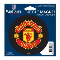 """Manchester United Official Soccer 4"""""""" Car Magnet Man U by Wincraft"""