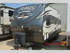 New 2015 Palomino Puma Unleashed 25TFS Toy Hauler Travel Trailer at Fun Town RV | Cleburne, TX | #133656