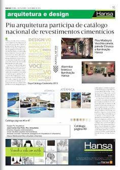 86° Jornal Bom Dia - Piu Arquitetura participa de catálago nacional de revestimentos cimentícios 19-04-13