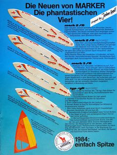 MARKER windsurfing 1984
