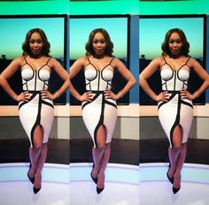 Minnie Dlamini All white