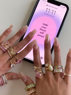 Jolie Nail Art, Lip Injection Extreme, Fire Nails, Soft And Gentle, Cartier Love Bracelet, Love Bracelets, Pink Aesthetic, Summer Aesthetic, Nail Inspo