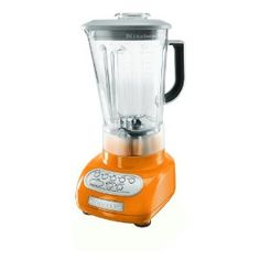 I cannot wait to break in my orange kitchen aid blender! Matches my mixer!!!!