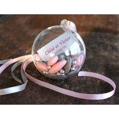 Boule en PVC à garnir et à suspendre ou à poser - Déco extérieur intérieur - Mariage Anniversaire Baptême Noël