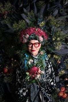 You can hardly blame Australian fine art photographer Alexia Sinclair for being a couch potato. Her recent portrait of fashion designer Jenny Kee is yet another proof of that.