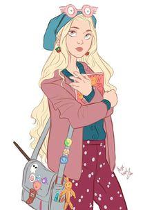 Luna! beautiful illustration!