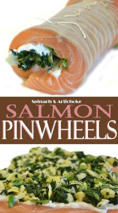 Polish crab stuffed salmon pinwheels zrazy osos i krab recipe simply roll and secure this stuffing mixture inside a butterflied piece of salmon to create these delicious salmon pinwheels ccuart Image collections