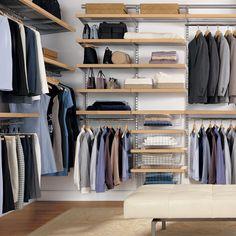 small walk-in closet plans - Google Search