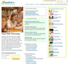 4Teachers.org works to help you integrate technology into your classroom by offering online tools and resources. This site helps teachers locate online resources such as ready-to-use Web lessons, quizzes, rubrics and classroom calendars. There are also tools for student use. Discover valuable professional development resources addressing issues such as equity, ELL, technology planning, and at-risk or special-needs students.