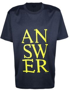 LANVIN - Answer t-shirt 1