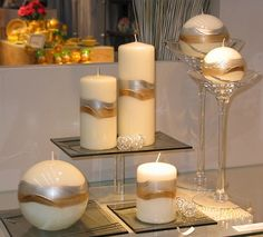 Fancy Candles, Best Candles, White Candles, Diy Candles, Scented Candles, Pillar Candles, Candle Art, Candle Magic, Candle Stand