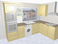 small u shaped kitchen design - google search | kitchen designs
