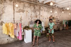 Using Instagram to quietly gain interest in their new venture, Solange Knowles and partners open their store in New Orleans. #Beyonce #fashion