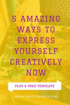 Using your creativity to express yourself is an amazing thing.  It's an  outlet unlike any other.  It truly works wonders and the benefits come full  circle.   It helps you to release frustration and anxiety, but it also  rewards you by building up your creative muscles.  The more you use your  creativity, the more it will grow. Whether you're using it for work, play,  or even therapy the end result will be the same.  You'll have more  creativity and even more of an ability to tap into it.