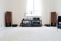My set-up. Audio Note, Lyra and DPS 3 by Bauer Audio.