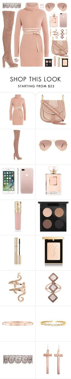 """Untitled #1769"" by fashionwwonderland ❤ liked on Polyvore featuring Valentino, Chloé, Gianvito Rossi, Ray-Ban, Chanel, Smith & Cult, MAC Cosmetics, Dolce&Gabbana, Yves Saint Laurent and Elise Dray"