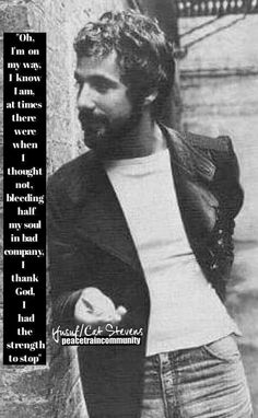 Cat Stevens, Thank God, Beautiful Soul, No One Loves Me, My Way, First Love, Musicals, Thoughts, The Originals
