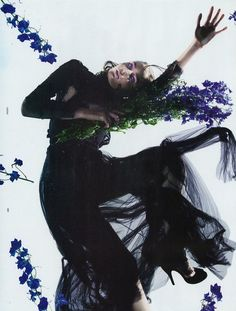 HOLY FLOWERS | Zuzanna Bijoch | Pierre Debusshcere #photography |  Dazed & Confused October 2012