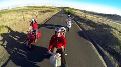 A small video of a group of friends enjoying a unique end of an afternoon under Madeira's sunshine, with their old Vespas.  Find us on Facebook:       www.facebook.com/pedrofreitasphoto  www.facebook.com/TeamRally200  Filming: Pedro Freitas / Rúben Fernandes Go Pro 3 Black Edition Editing: iMovie  Artist: Coldplay Track: Don't panic Buy it here: https://itunes.apple.com/us/album/dont-panic-single/id378116984