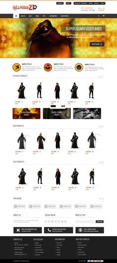Halloween Website for halloween Costume