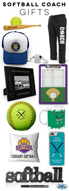 Your softball coach has dedicated so much of their time to make sure your season was a success! Treat them to an amazing end-of-season gift, only from ChalkTalkSPORTS!