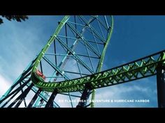 The World's Five Fastest Steel Roller Coasters