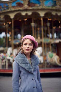 Ira Sumbayeva is Parisian Chic for Cosmopolitan Mexico November 2015 by Vladimir Marti