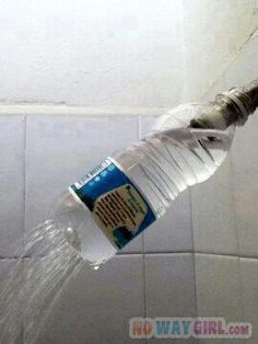 The Shower Struggle | NoWayGirl.com Gotta give props for thinking that up lol