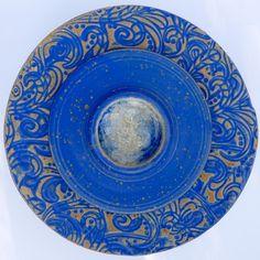 Tischfeuer blau