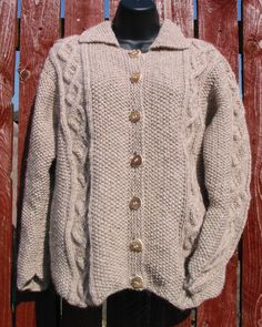 Cromarty Jacket knitting pattern by Woolrush on Etsy