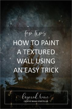 create-a-textured-wall-effect-using-paint-in-3-easy-steps Green Lounge, Dark Blue Living Room, Wall Panelling, Dark Blue Green, Eclectic Living Room, Decor Crafts, Christmas Diy, Dining Room, Craft Ideas