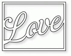 Papertrey Ink | Papertrey Ink - Framed Love Die