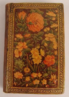 Qur'an Manuscript with Lacquer Binding, early 19th century, Manuscript: ink, opaque watercolor and gold on paper; Binding: pasteboard, painted and lacquered, Iran