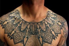 """The 10 Coolest Tattoo Artists In L.A. #refinery29  http://www.refinery29.com/los-angeles-tattoo-artists#slide-11  D'mon """"The Architect"""" MeuliYears In The Biz: 17 Find Him At: California Gold Tattoo, 3321 West Sunset Boulevard (near Silver Lake Boulevard); 323-912-9202.  Instagram: <a href=""""http://instagram.com/dmontattoo"""" target=""""_blank"""" rel=""""..."""