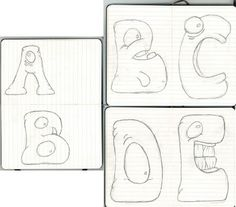 Monster Alphabet by Eric Lay