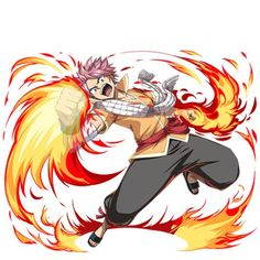 Natsu from fairy tail Fairy Tail 漫画, Fairy Tail Tumblr, Fairy Tail Amour, Image Fairy Tail, Fairy Tail Gray, Fairy Tail Natsu And Lucy, Fairy Tail Family, Fairy Tail Guild, Fairy Tail Manga