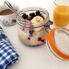 Porridge Love affaire ❤️