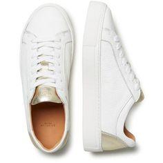 new balance 996 cream & gold trainers